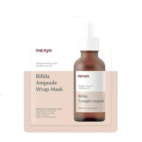 Manyo  Bifida Ampoule Лечебная маска для упругости кожи лица