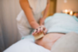 body brushing and treatments with Neal's