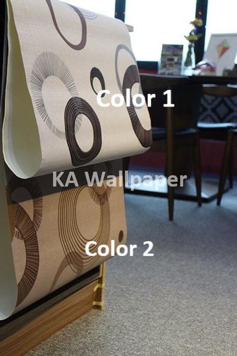 Geometric 3D Pattern Wallpaper