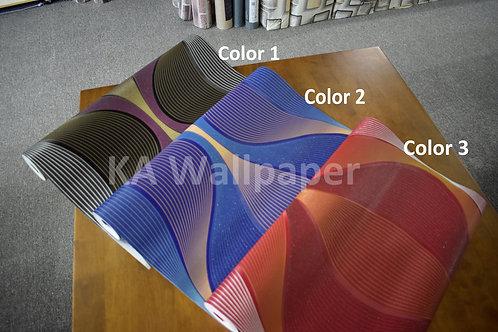 3D Glittering Modern Wallpaper