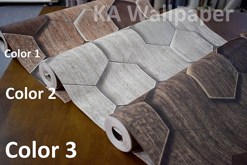 Hexagon Wood Pattern
