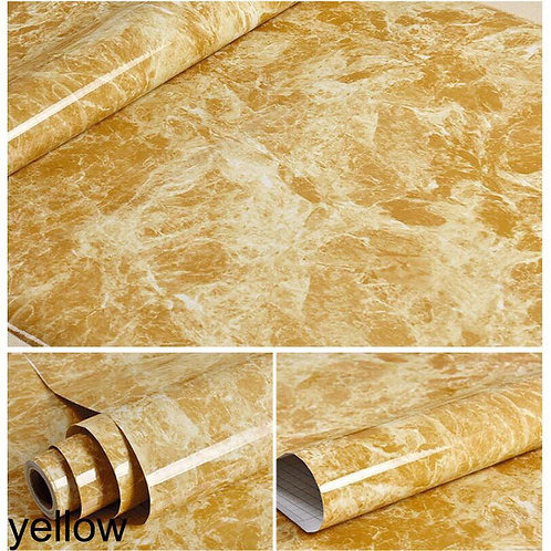 Modern Waterproof Vinyl Self adhesive Wallpaper Marble Contact Paper Kitchen