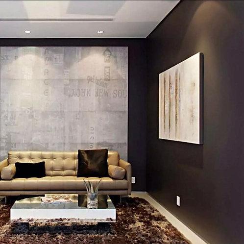 Wallsticker Dinding Self-adhesive Waterproof Wallpaper & Living room and Bedroom