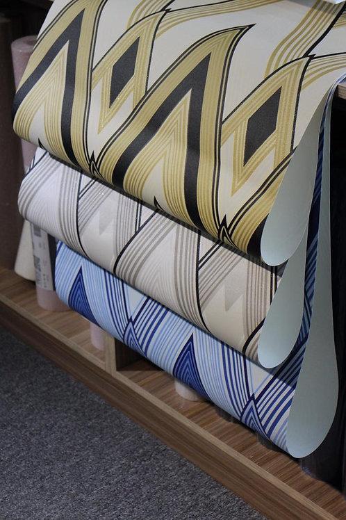 Geometric Glittering Pattern Wallpaper