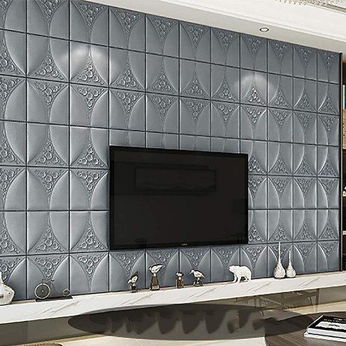 Luxery 3D Wallpaper Sticker self adhesive Wall PE Foam DIY Ready Stock