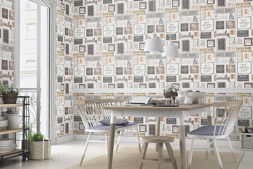 Premium quality texture face Wards frames Germany made wallpaper