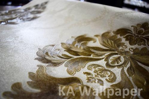 Classic Embossed Wallpaper