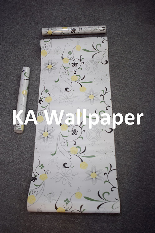 Floral Pattern Self-adhesive Rolls