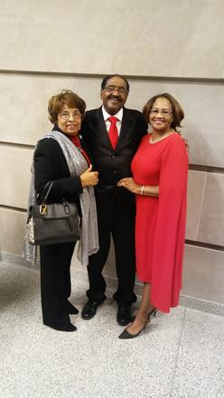 Flonzie, Rep. Robert and Joann Clark.
