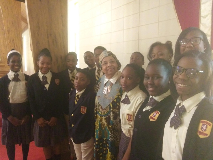 New Hope Baptist Church School Students
