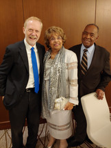 Journalist Jerry Mitchell, Flonzie and Dr. Robert Smith.