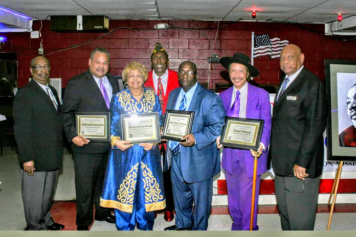 Hezekiah Watkins and The Salt and Pepper Club honors Flonzie, Howard Ballou and others.