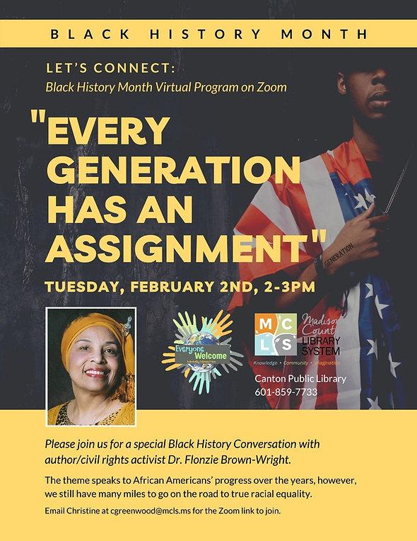 Flyer 1_Black History Month Virtual Prog