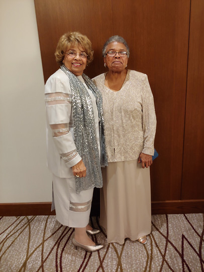 Attorney Constance Slaughter Harvey and Flonzie