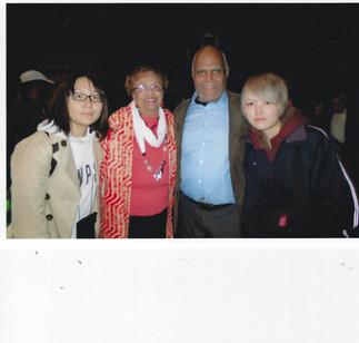 Flonzie and civil rights icon Dr. Bob Mo