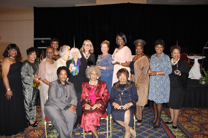 National Women's History Month Celebration honorees including Flonzie, March 7, 2020.