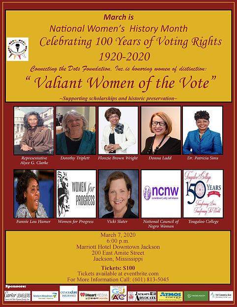 National Women's History Month Celebrati