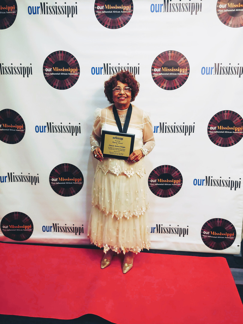 Flonzie is honored by Our Mississippi Magazine