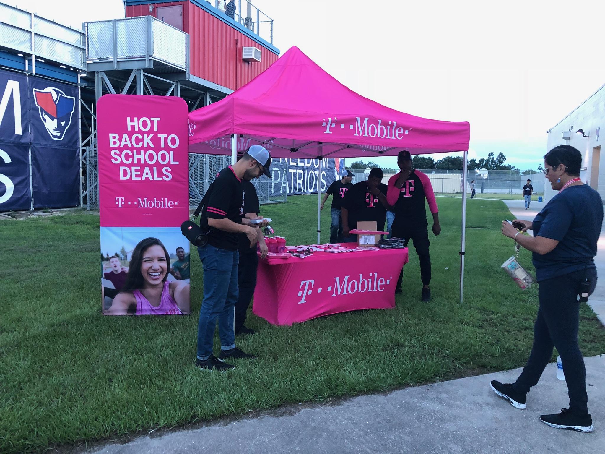 T-Mobile Half Time Sponsor