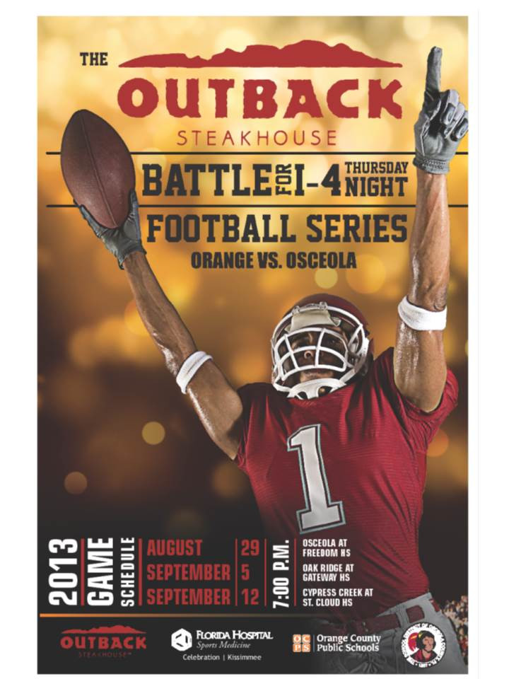 Outback Steakhouse got in between school districts to create a cross-county rivalry game series.