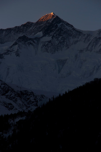 Annapurna II sunrise