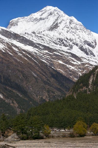 Dhaulagiri, from Kalopani