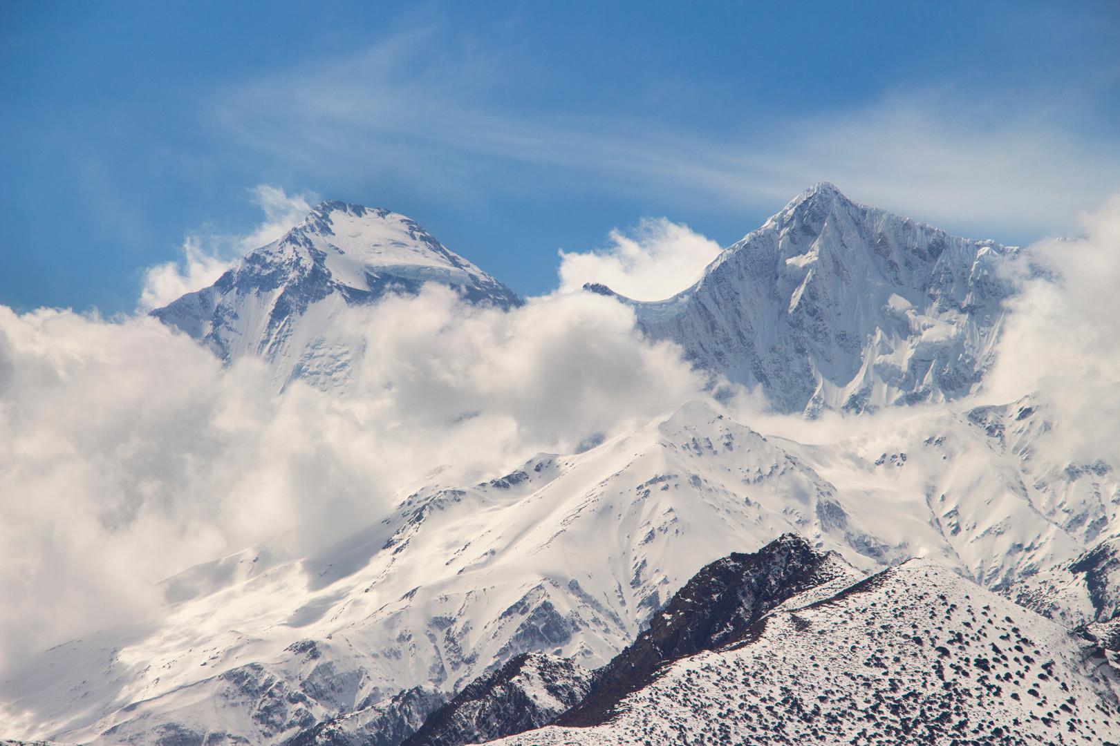Dhaulagiri and Tukuche peak