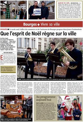 Article de Presse Tours'Brass