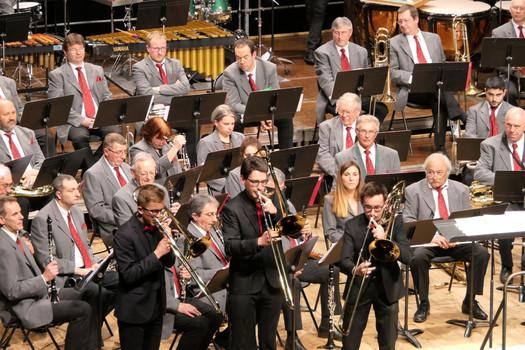 Finale lors du concours National de Trio de trombones