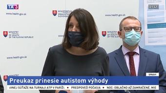 Preukazy pre osoby s poruchou autistického spektra už aj na Slovensku