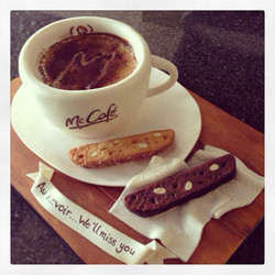 mcdonalds coffee cake
