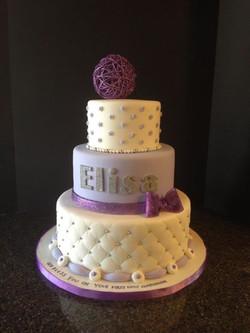 elisa communion cake