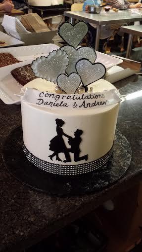 engagement silouette heart cake.jpg