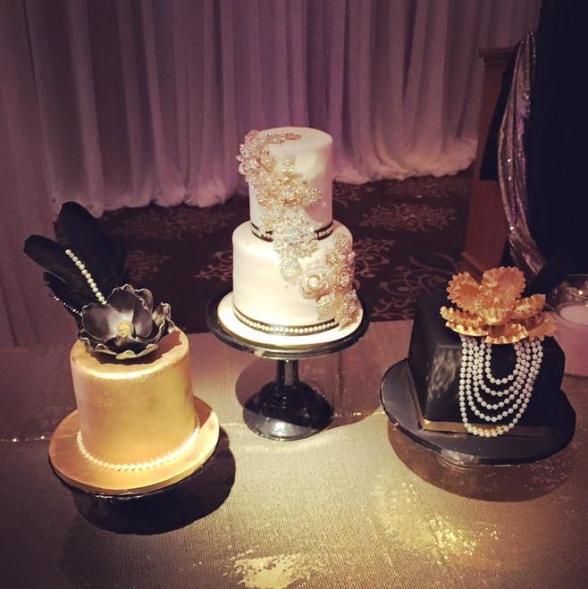 art deco trio cakes.jpg