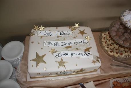 twinkle theme half slab cake fondant.jpg