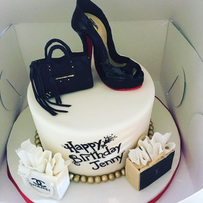 Black louboutin shoe cake.jpg
