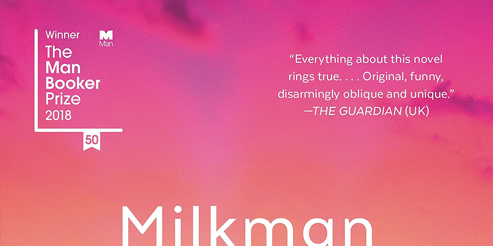 Book Club: Milkman by Anna Burns