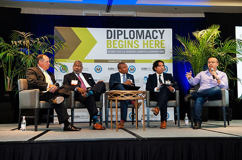Diplomacy Begins Here Summit @ The Omni