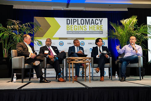 Diplomacy Begins Here Summit @ The Omni