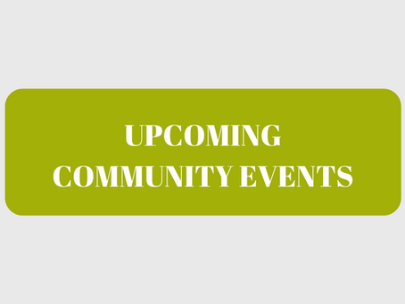 Upcoming International and Community Events