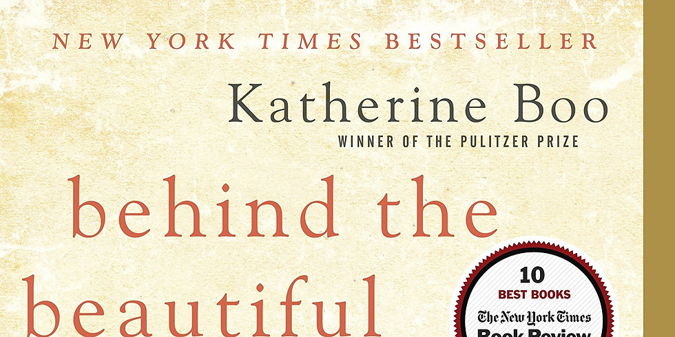 Book Club: Behind the Beautiful Forevers, Katherine Boo
