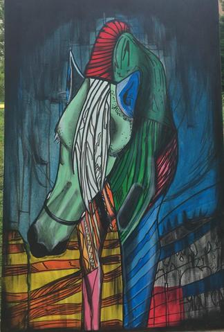 """""""Cavalo"""" by: Aguinaldo Santos"""
