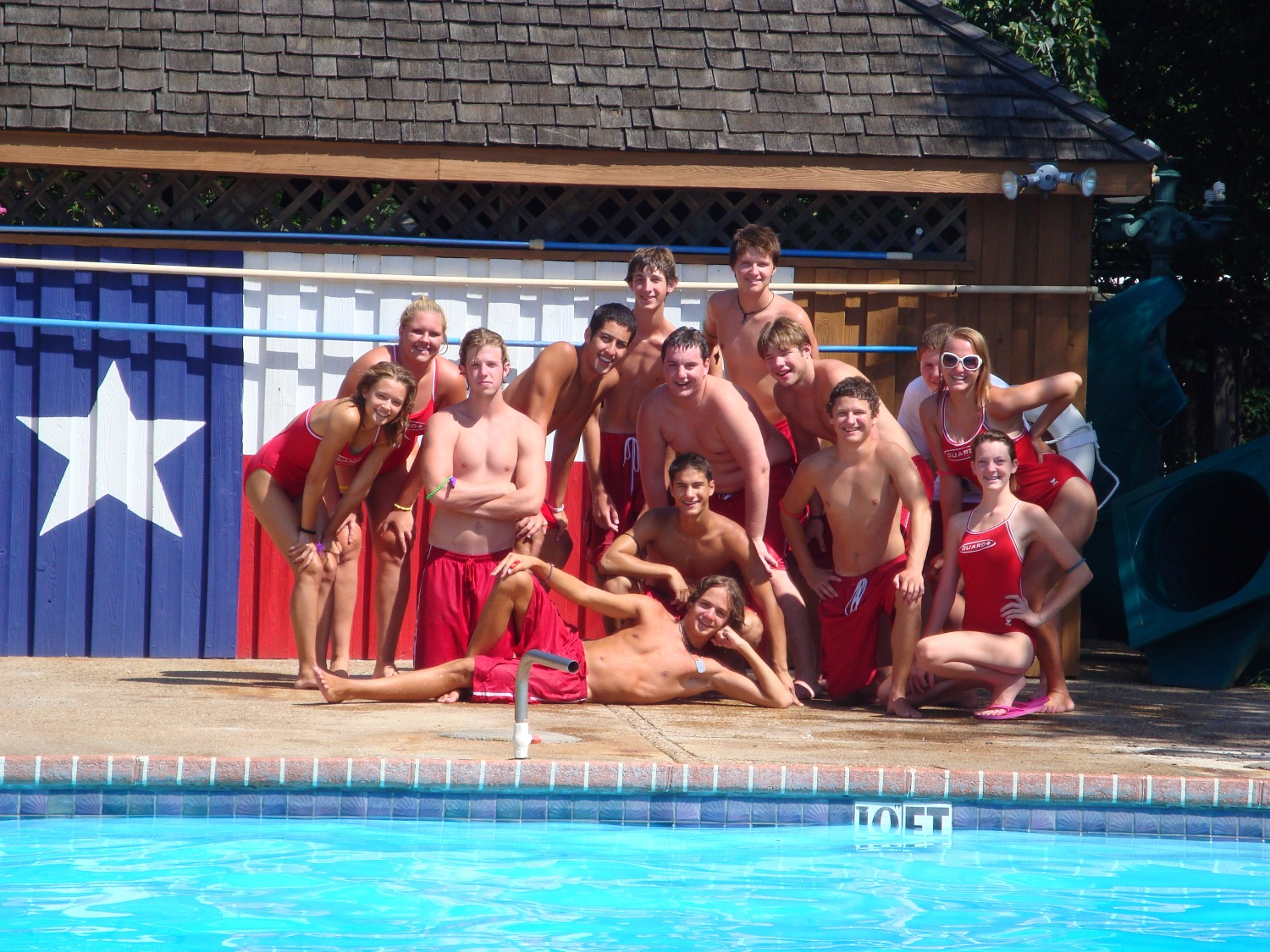 Texas Pool Baywatch Lifeguard Team