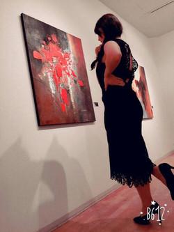 Visiteuse expo Tokyo 2