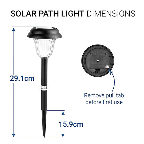 Hyperikon Solar LED Path Light