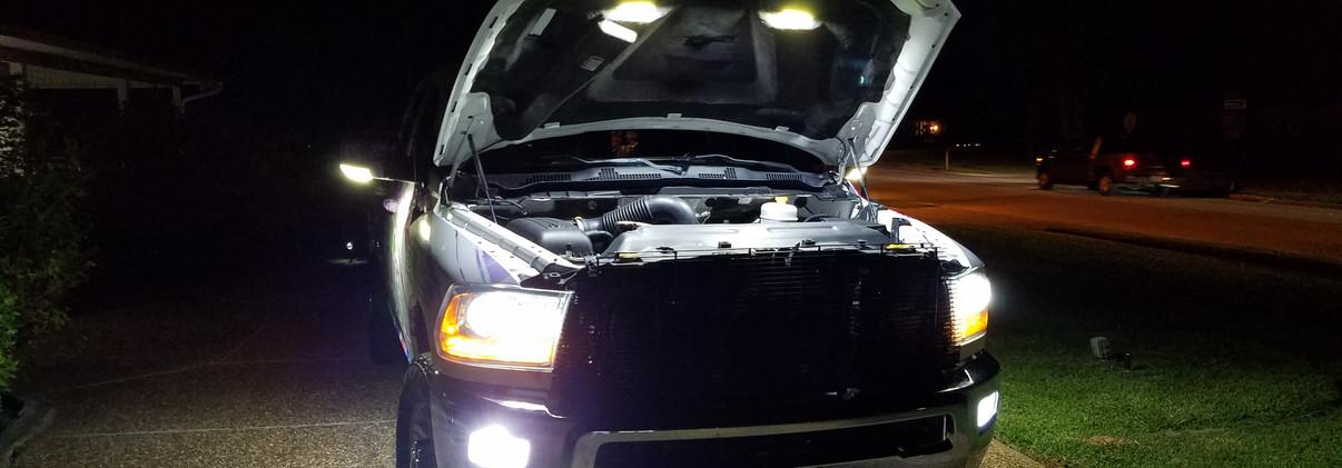 Truck lights
