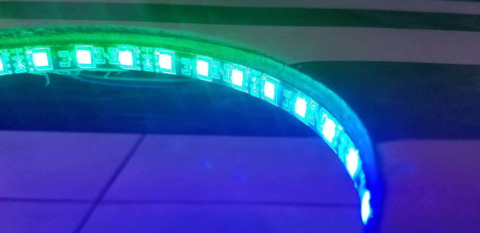 Color changing LED's
