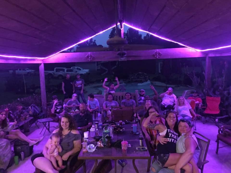 We do outdoor lighting!
