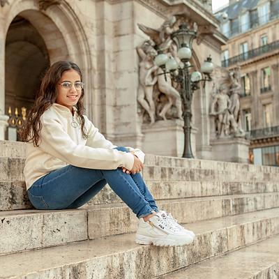טיול בת מצווש בפריז