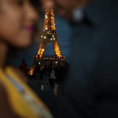 לילה אחד בפריז